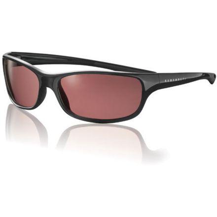 f552dbb8f3 Serengeti Cascade Sunglasses Shiny Black Frame Sedona Polarized Lens 6942 —  CampSaver
