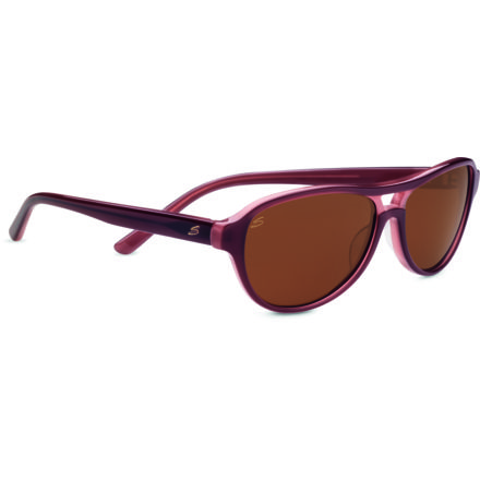 702d432050 Serengeti Imperia Sunglasses - Wine Frame and Polarized Drivers Lens 7785