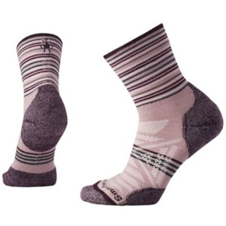 Smartwool phd outdoor light pattern mid crew socks womens campsaver smartwool phd outdoor light pattern mid crew sock womens woodrose small sw000766580 aloadofball Image collections