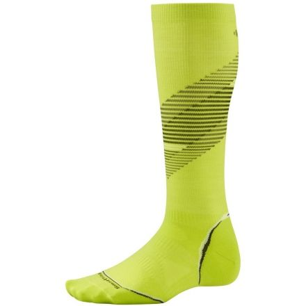 f208f319c1 Smartwool PhD Run Graduated Compression Ultra Light Sock - Mens-SmartWool  Green Pattern-Small