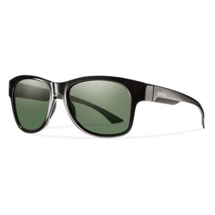 f894673dc1f Smith Optics Wayward Sunglasses Black Polar Gray Green ChromaPop Lenses  WARPGNBK