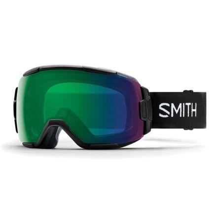 63449cbe8c30e Opplanet smith vice snow goggles mens black chromapop everyday green mirror  lens main jpg 440x440 Smith
