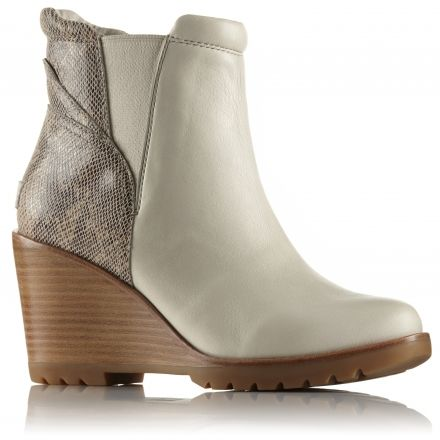 d53594293295 Sorel After Hours Chelsea Leather and Suede Casual Boot - Women s ...