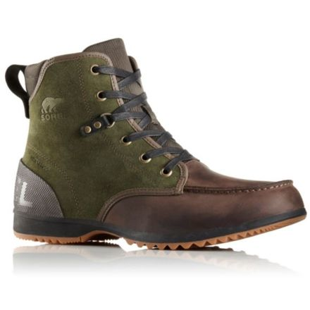 6499d2836bb0 Sorel Ankeny Moc Toe Casual Boot - Men s-Peatmoss Cordovan-Medium-10