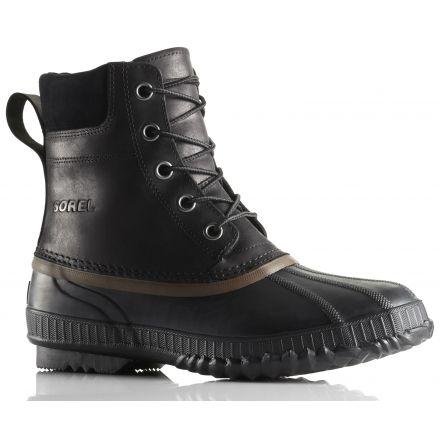 Sorel Cheyanne Lace Full Grain Winter Boot - Men s-Black Brown-Medium- 916a4d3dee1c
