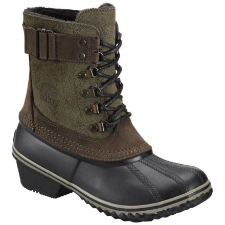 b2aa11d189bc Sorel Fancy Lace II Winter Boot - Women s-Peatmoss Black-Medium-10