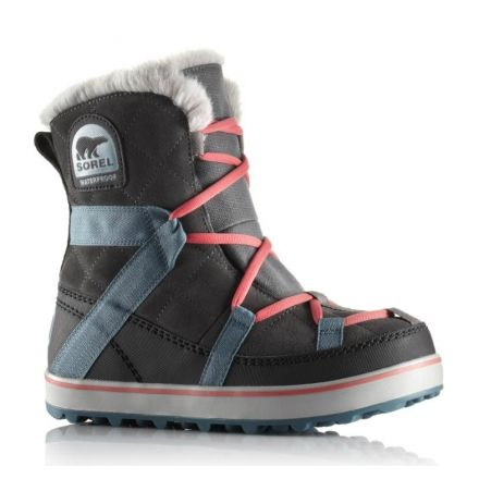 Discount Collections Sorel Glacy Explorer Shortie Boot(Women's) -Black Suede Clearance Amazing Price Comfortable For Sale Buy Cheap Discount VS234