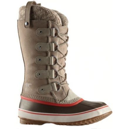 487047edbc9a Sorel Joan Of Arctic Knit Winter Boot - Women s-Fossil-Medium-8