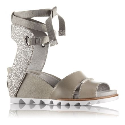 63c4321cbfab Sorel Joanie Wrap Sandal - Women s-Dove-Medium-7.5