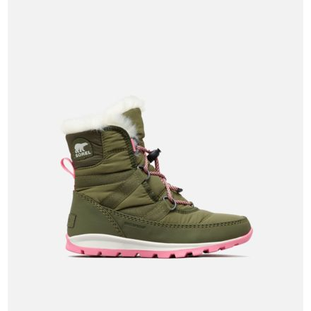 a94c8a7e86 Sorel Youth Whitney Short Lace Boot, Hiker Green, Se, 1, 1767401371-