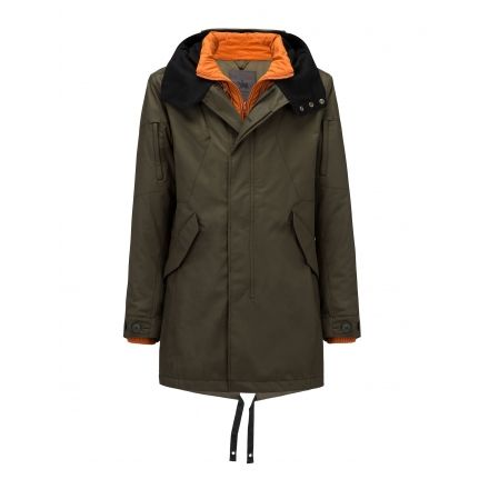 Spiewak 25 Degrees Systems Fishtail Parka - Men -Olive-Small d69a53adc2d0