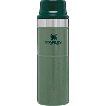 d1e9ee7c44a Stanley Classic Trigger-Action Travel Mug, Hammertone Green, 16 oz, 10-