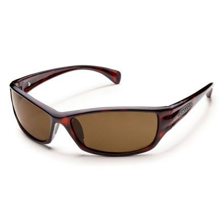 b5a0ece476d Suncloud Hook Sunglasses Havana Frame Brown Polarized Polycarbonate Lens  S-HKPPBRHV