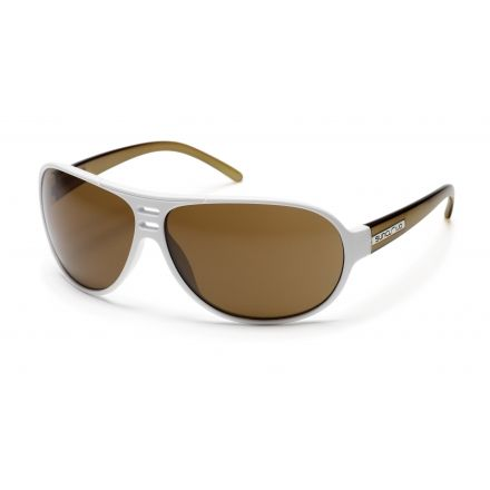 bd6817ddb3 Suncloud Joy Ride Sunglasses with White-Olive Frames