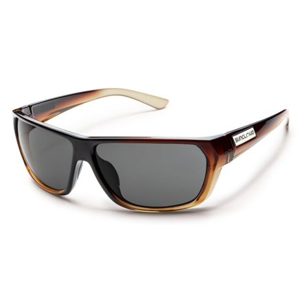 244a56154f Suncloud Polarized Optics Feedback Sunglasses - Black Fade Frame Gray  Polarized Polycarbonate Lens S-