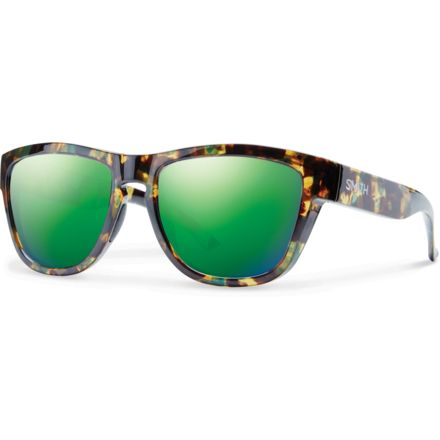 af45c9b944 Suncloud Polarized Optics Clark Sunglasses - Men s-Flecked Green  Tortoise-Green Sol-X