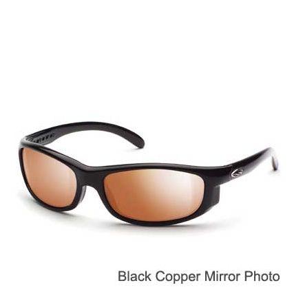 eab24355ad Suncloud Polarized Optics Maverick Black Blue Mirror Gray