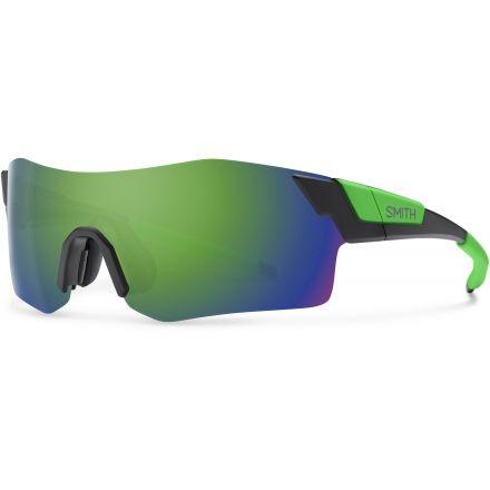 57e195b227 Suncloud Polarized Optics PivLock Arena Sunglasses-Matte Black Reactor-Green