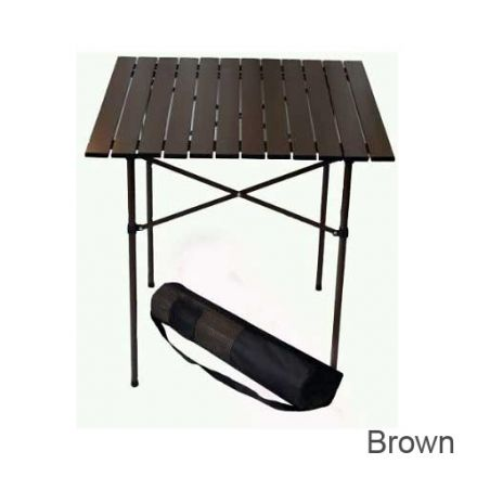 table in a bag tall aluminum table campsaver. Black Bedroom Furniture Sets. Home Design Ideas
