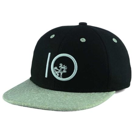 811577676e6 Tentree Classic Snap Hat - Unisex-Black Greenery-One Size