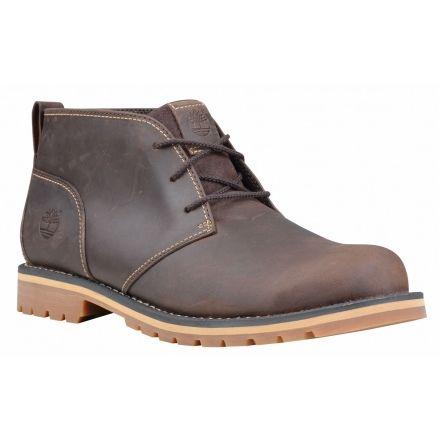 Timberland Grantly Chukka Casual Boot - Men's-Dark Brown-Medium-8.5