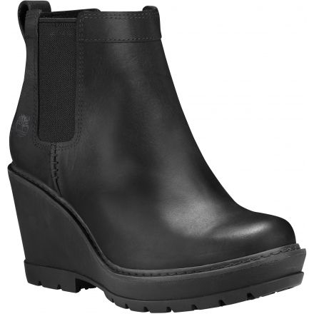 eb8f52e1f67 Timberland Kellis Double Gore Chelsea Casual Boot - Women s-Black-Medium-9.5