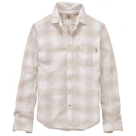 40b38aa0 Timberland Mill River Long Sleeve Ombre Plaid Shirt - Men's-Wind Chime  YD-Medium