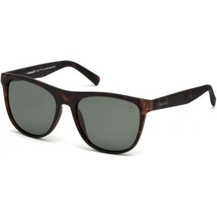 9cfd93431db7 Timberland TB9124 Sunglasses - Dark Havana Frame Color, Green Polarized  Lens Color