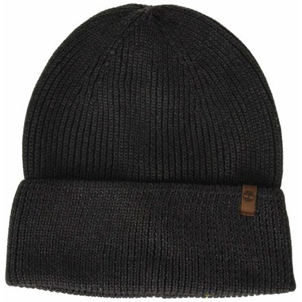 669159f9a Timberland Watch Cap Beanie w/ Leather Patch - Men's