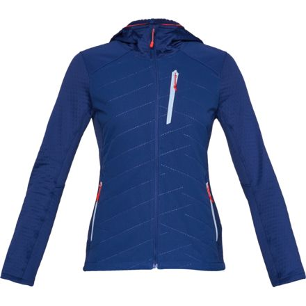 01641bf32a Under Armour ColdGear Reacto Exert Jacket, FORMATION BLUE/Oxford Blue  AFS/Deprecated-