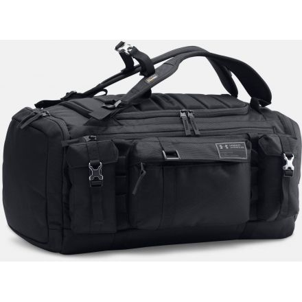 39327823f692 Under Armour UA Cordura Range Duffel 53 L-Black Black Charcoal