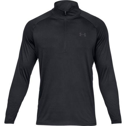 d8a848e26 Under Armour Ua Tech 1/2 Zip Shirt 2.0, Black/charcoal - 13284950012X