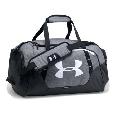 918cc28db97 Under Armour Undeniable Duffle 3.0 SM, Graphite/Black/White, OSFA, 1300214
