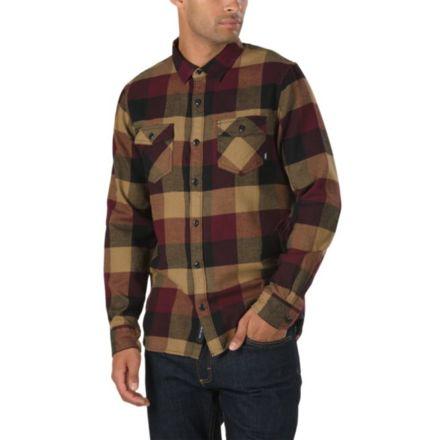 b04d9fe6 Vans Box Flannel Shirts - Men's