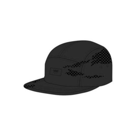 Vans Davis 5-Panel Camper Cap - Mens VN000UM2KIF-One Size — CampSaver ea04a08257f