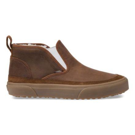 10c258ad6b Vans Mid Slip SF MTE Winter Shoes, Dachshund/Medium Gum , Mens 8.5 US