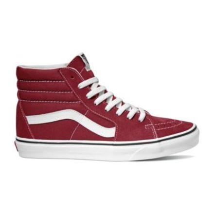 7aeb362c57 Vans Sk8-Hi Casual Boot, Rumba Red/True White, 9.5 US,