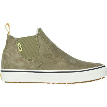 cda1884e1b Vans Slip-On Mid MTE Shoes - Womens, Mary Rand/Marshmallow, 6