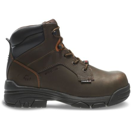 6424b797470 Wolverine Merlin Waterproof 6in Work Boot - Mens
