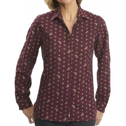 4e45ae4a797 Woolrich Keystone Printed Chamois Shirt - Womens — CampSaver