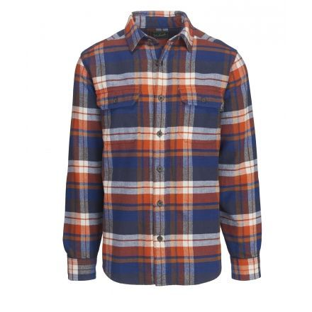 Woolrich oxbow bend flannel shirt mens up to 47 off for Royal blue plaid shirt mens