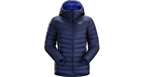 Arc'teryx Cerium LT Hoody Women's, Twilight, Large, 403939 — Womens Clothing Size: Large, Sleeve Length: 32.5, Age Group: Adults, Apparel Fit: Trim