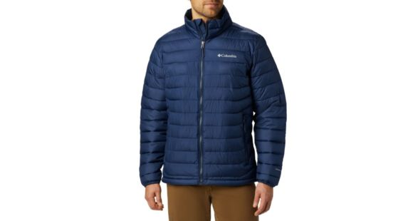 Columbia Powder Lite Jacket Men's, Collegiate Navy, Extra Large, 1698001467 XL — Mens Clothing Size: Extra Large, Gender: Male, Age Group: Adults,