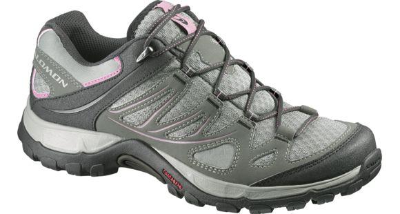 Salomon Ellipse Aero Hiking Shoe Women's VerdigreyTempPink 6 US — Womens Shoe Size: 6, Gender: Female, Age Group: Adults, Womens Shoe Width: