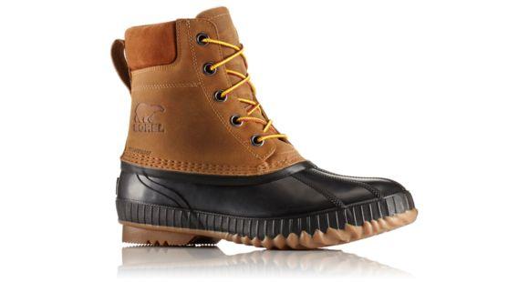 Sorel Cheyanne II Lace Duck Boot - Mens, Chipmunk/Black, 14 US,  1750241224-14 — Mens Shoe Size: 14, Gender: Male, Age Group: Adults, Mens  Shoe Width: ...