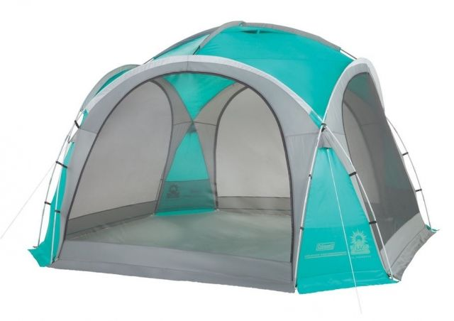 photo: Coleman Mountain View 12x12 Screendome Shelter