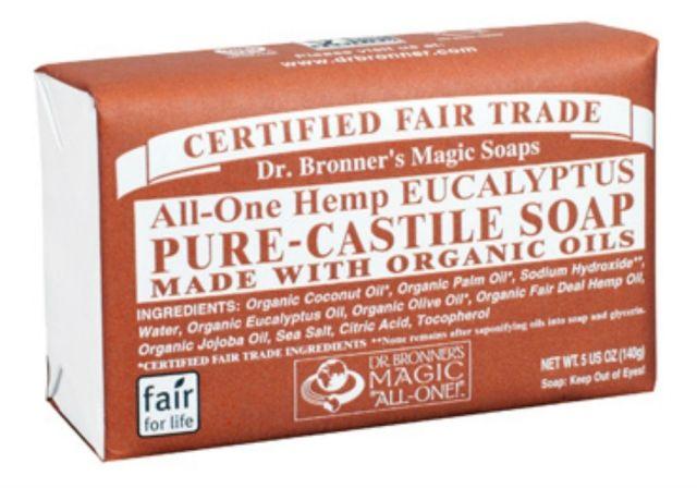 Dr. Bronner's Camp & Hike Liquid Soap - Baby Mild 32 oz 3...