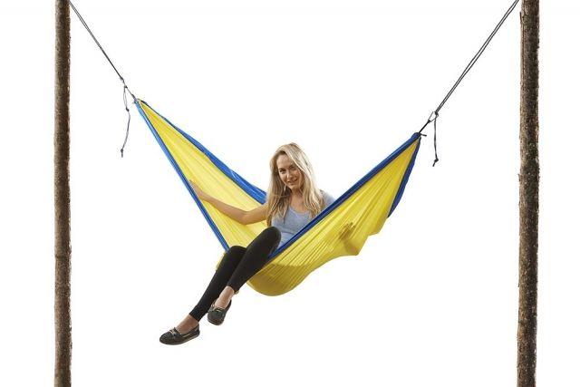 grand trunk single parachute nylon hammock reviews   trailspace    rh   trailspace