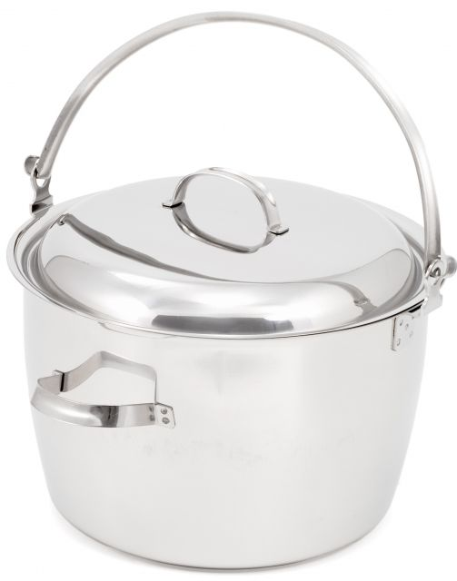 photo: GSI Outdoors Glacier Stainless Kettle 13 Qt