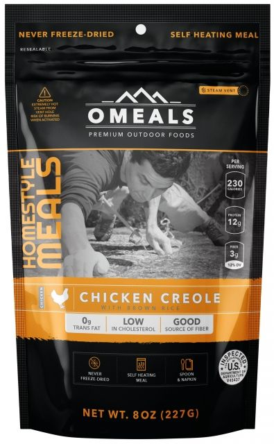 photo: OMeals Chicken Creole with Brown Rice
